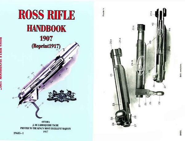Ross 1907 Rifle Handbook- 1917 ed for Mk. II (Canada)