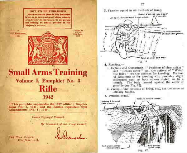 Lee Enfield .303 Rifle 1942 Small Arms Training