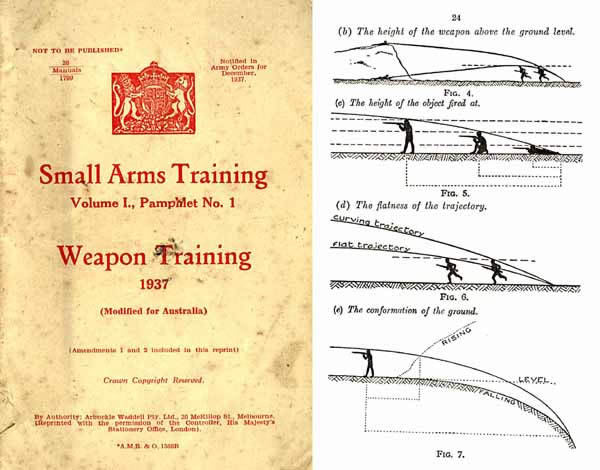 Weapons Training 1937 - Small Arms Training Manual No. 1 (Australia)