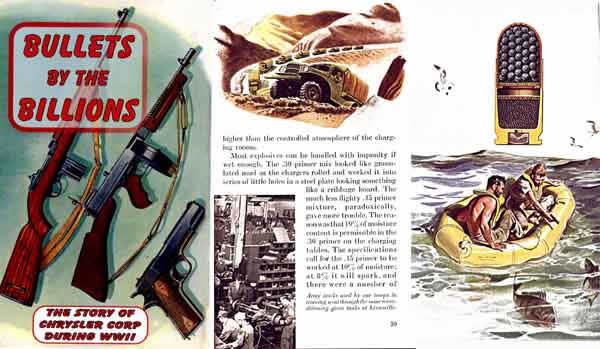 Bullets by the Billions 1946 Chrysler Corporation