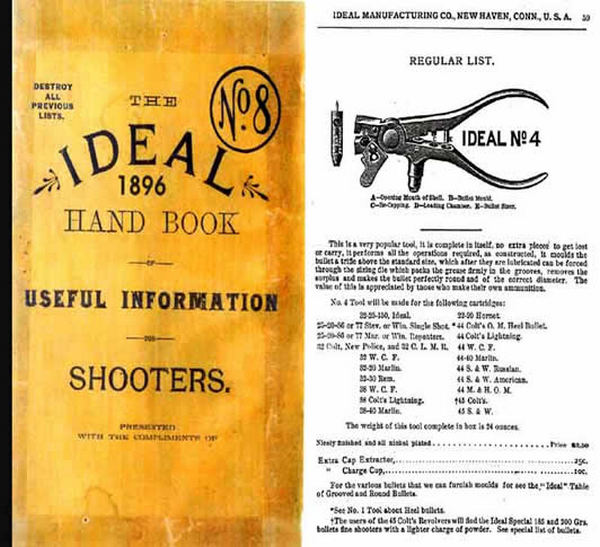 Ideal 1896 Handbook of Useful Information for Shooters No.8