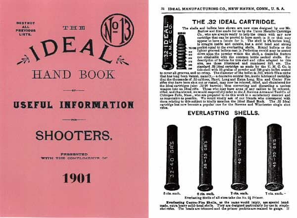 Ideal 1901 Hand Book of Useful Information for Shooters #13