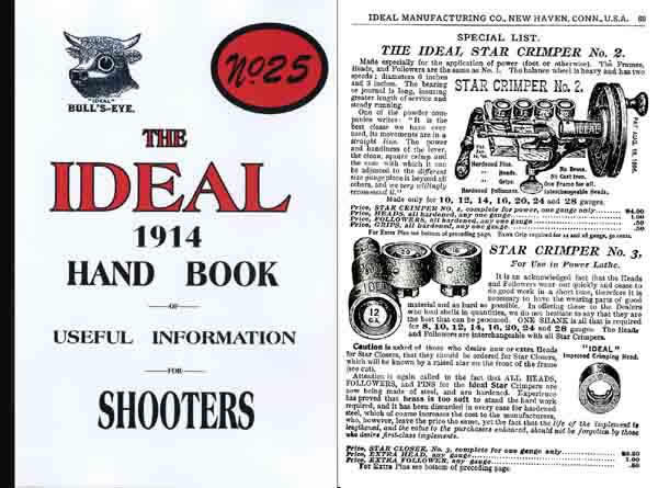 Ideal 1914 Hand Book of Useful Information No. 25 Catalog