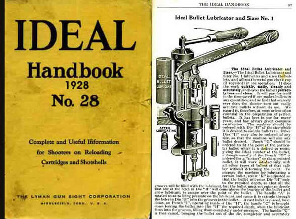 Ideal 1928 Hand Book of Useful Information for Shooters No. 28