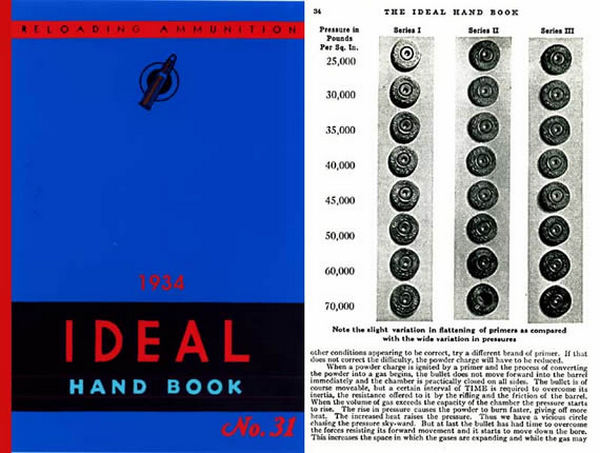 Ideal 1934 Hand Book of Useful Information for Shooters No. 31