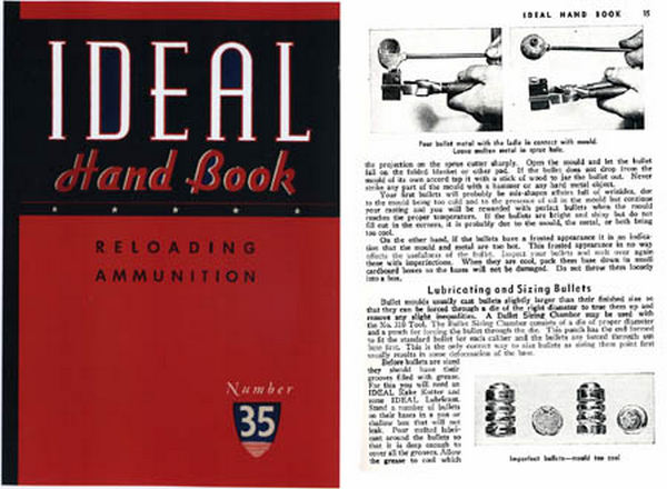 Ideal 1948 Hand Book/ Reloading Ammunition #35