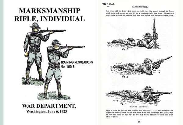Marksmanship-Rifle, Individual Training Regulations 1923