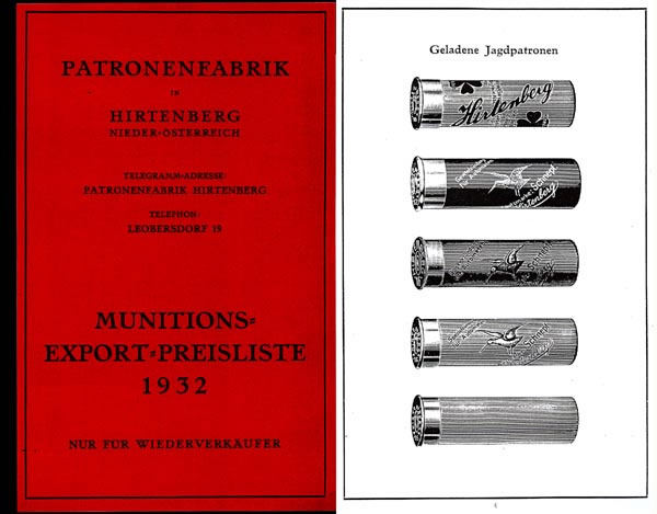 PatronenFabrik 1932 Ammunition (German)
