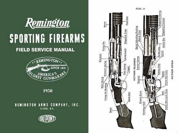 Remington 1950 Firearms Field Service Guide & Parts Catalog