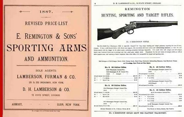 Remington 1887 Arms and Ammunition Catalog