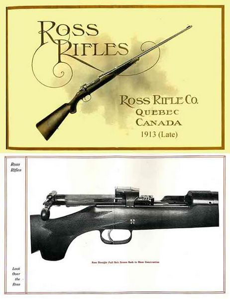Ross 1913 Rifle Company (Late) Gun Catalog
