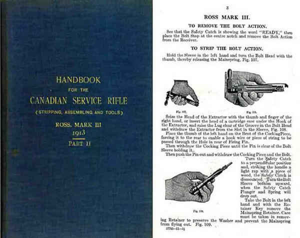 Ross 1913 Rifle Mark III & II Handbook Part II