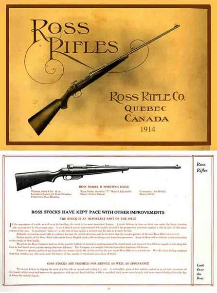 Ross 1914 Rifle Company Gun Catalog