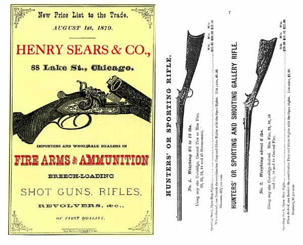 Henry Sears & Co. 1879 (Chicago) Catalog