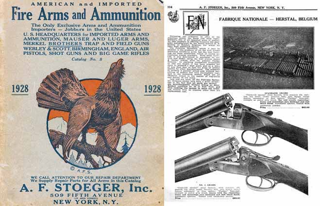 Stoeger 1928 Arms & Ammunition Catalog No. 8