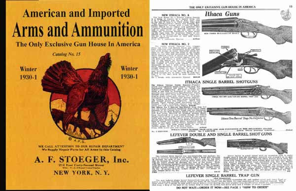 Stoeger 1930 Arms & Ammunition Catalog No. 15- Winter