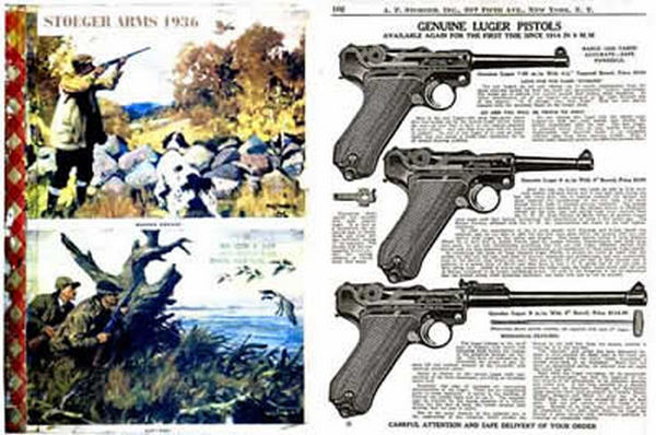 Stoeger 1936 Arms & Ammunition Catalog No. 27