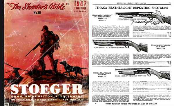 Stoeger 1947 - The Shooter's Bible #38 Gun Catalog