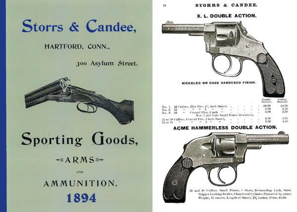 Storrs & Candee Sporting Goods Catalog 1894 (Hartford, CT)