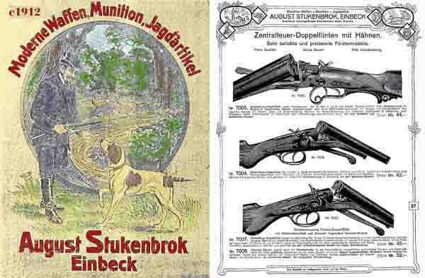 August Stukenbrok c1912 Gun Catalog (German)