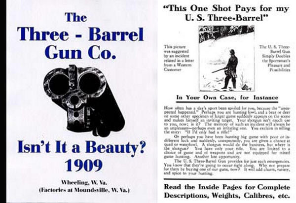 Three Barrel Gun Co 1909