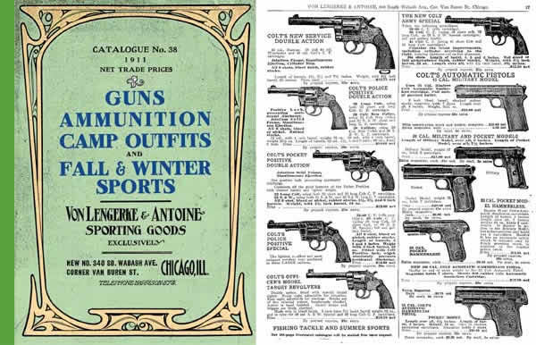 Von Lengerke & Antoine 1911 Gun & Sporting Good Catalog No. 38 (Chicago)