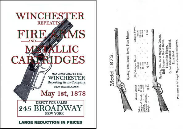 Winchester 1878 May Repeating Firearms Gun Catalog