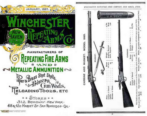 Winchester 1887 Jan- Repeating Arms Co Catalog