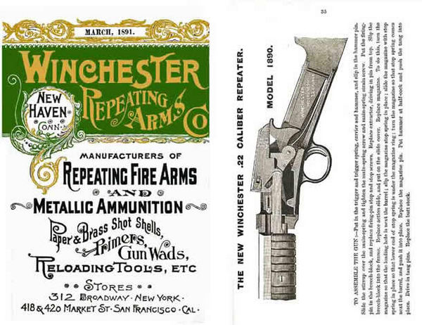 Winchester 1891 March- Repeating Arms Co. Catalog