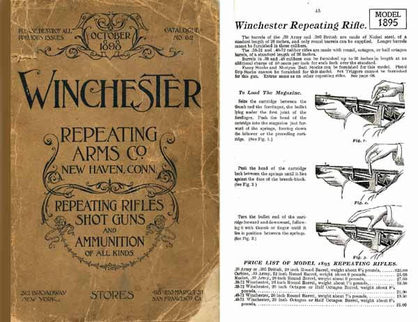 Winchester 1898 October- Gun and Ammunition Catalog #62