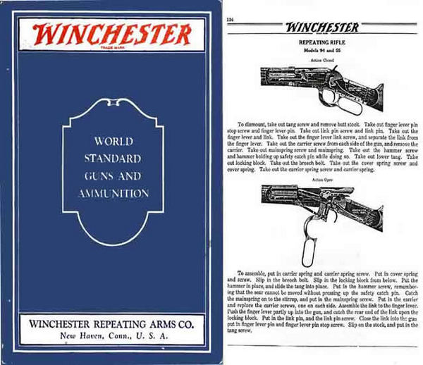 Winchester 1931 Guns & Ammunition Catalog
