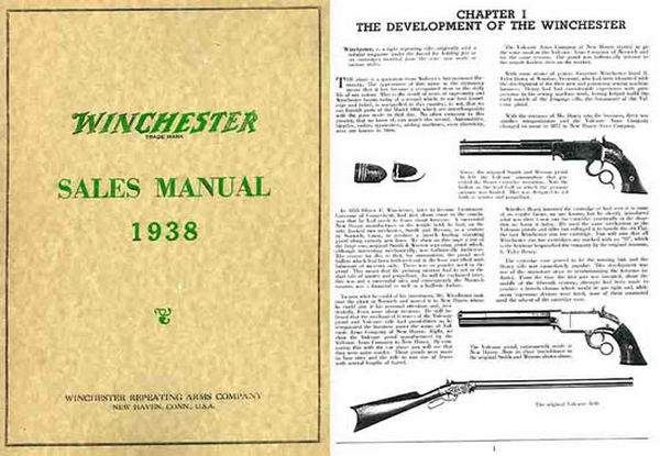 Winchester 1938 Salesman Training Manual & Company History