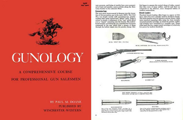 Winchester 1964 GUNOLOGY - Course for Gun Salesmen