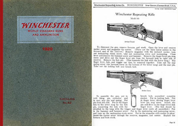 Winchester 1920 World Standard Guns and Ammunition # 82