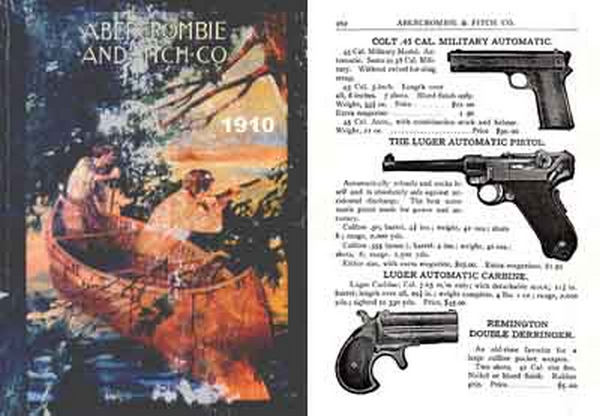 Cornell publications abercrombie fitch firearms for Free fishing catalogs