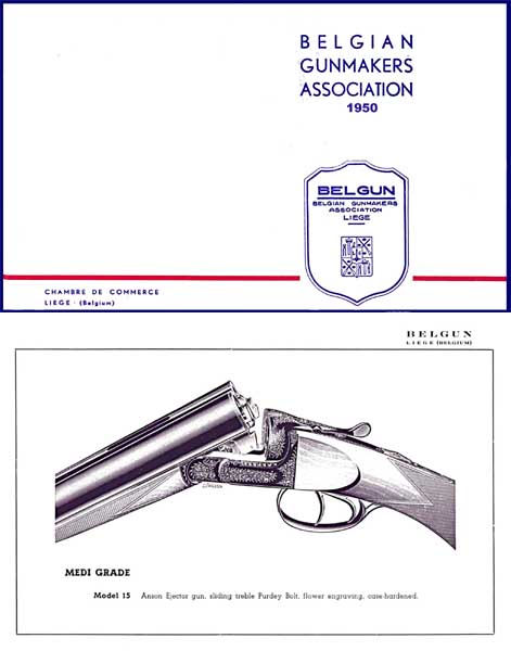 Belgian Gunmakers (Belgun) Association 1950 Catalog