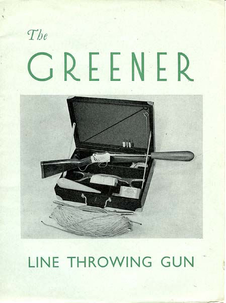 WW Greener c1950 Line Throwing Catalog