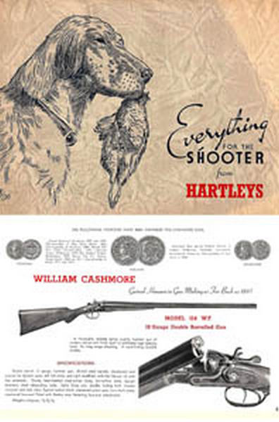 Hartley Sports Stores (Australia) c1939 Gun Catalog