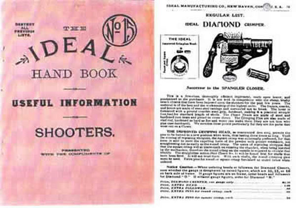 Ideal 1903 Handbook No. 15 Catalog