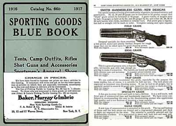 New York Sporting Goods 1916-17 (Late) Catalog