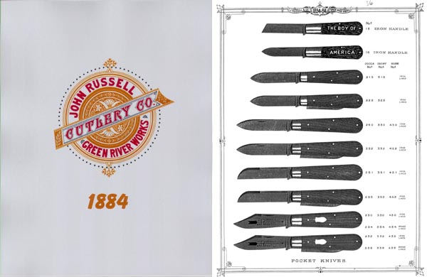 Russell Cutlery Catalog 1884