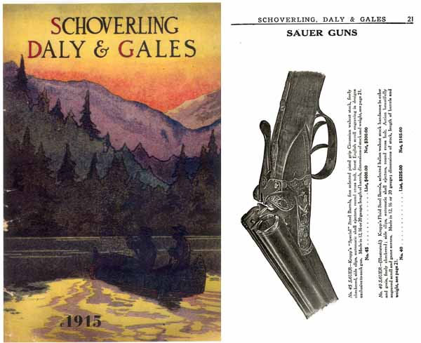 Schoverling, Daly & Gales 1915 Catalog