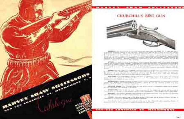 Harvey Shaw Successors c1920 (Australia) Gun Catalog