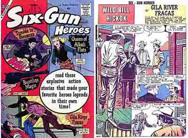 Six Gun Heroes Comic Book 1955