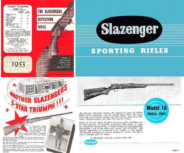 Slazenger Rifles 1953 (AU-Lithgow) Gun Catalog-Manual