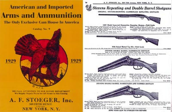Stoeger 1929 Arms & Ammunition Catalog No. 9