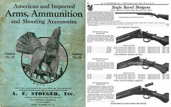 Stoeger 1933 Arms & Ammunition Catalog No. 18
