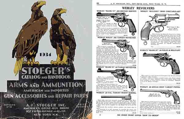 Stoeger 1934 Arms & Ammunition Catalog No. 25