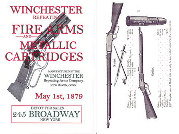 Winchester 1879 May- Firearms & Metallic Cartridges Catalog