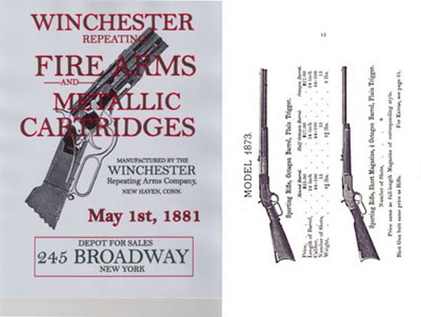 Winchester 1881 May- Fire Arms Gun Catalog